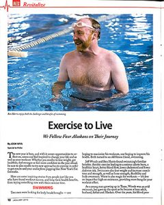 Ben Harris swim news story